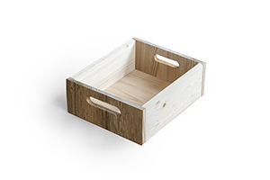 Drawer-box for TV tables