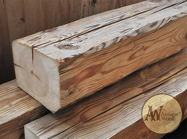 Antique Axed Beams Reclaimed Wood