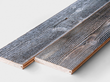 Reclaimed paneling boards